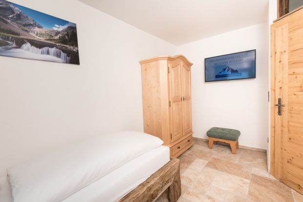 Fast internet and large TV offer in the Gletscher Appartements